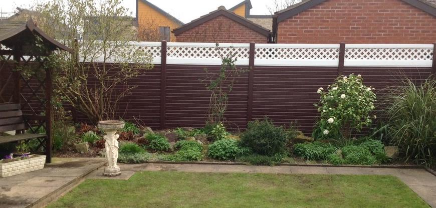 High Quality, Maintenance Free uPVC Plastic Fence