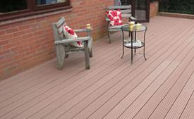 uPVC Compo Wood Decking